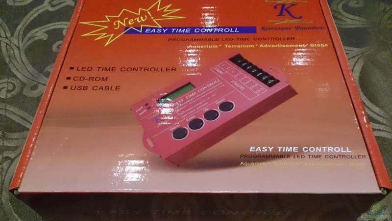 Mich@`s Stiftung Aqua-Test: Easy Time Controll (ECT®) - LED Controller