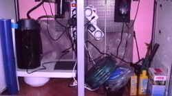 Technik im Aquarium Becken 14104