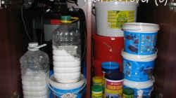 füttern und filtration