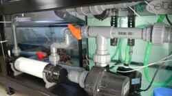 Rückstrompumpe und UV Anlage