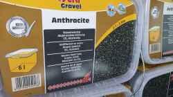 10x 6L Bodengrund Sera Gravel 1-3mm Körnung abgerundet in Anthracite