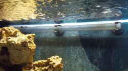 Auströmrohr leicht nach oben gerichtet