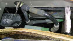 1 Pumpe Schlammkammer 28cm x 12cm Aqua Claer 70, 1500l/h