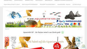 Aquaristik-CSI.de Onlineshop (Aquaristik-Webshop Aquaristik-CSI)
