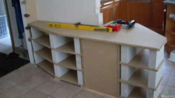unterbau ytong steine u spanplatten aus mbuna garten von mats. Black Bedroom Furniture Sets. Home Design Ideas