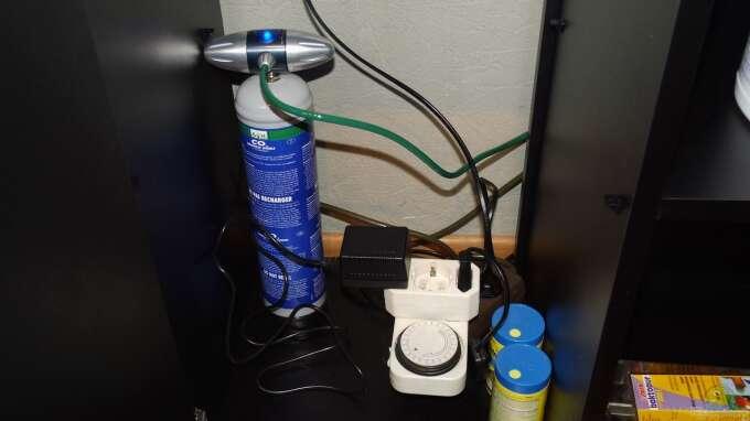 Einzigartig CO2 Anlage Dennerle Space 300 Einweg mit Nachtabschaltung aus Mein  TP41