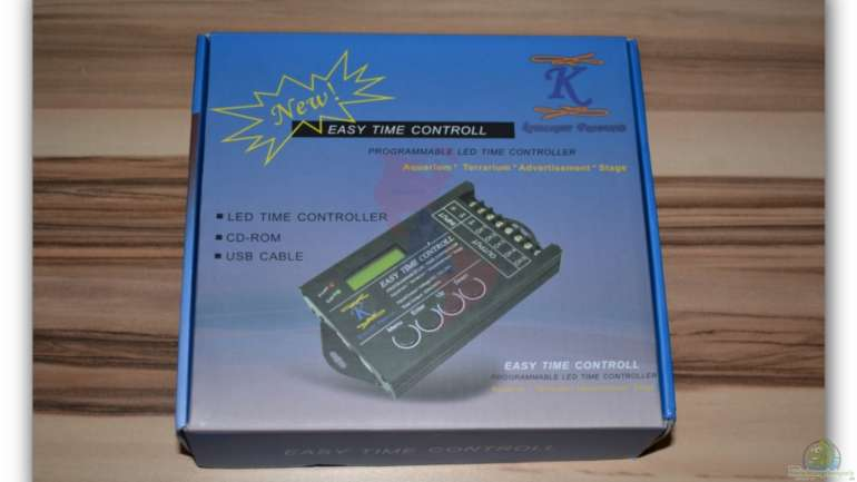 "Mich@`s Stiftung Aqua-Test: Easy Time  Controll ""Special Edition"" -  LED Controller"