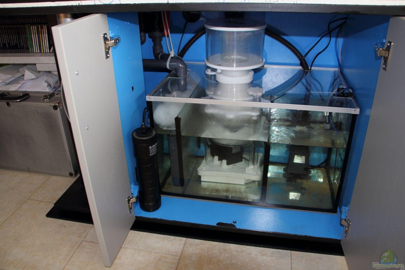 technikbecken mit eingebautem uv kl rer aus micha s great reef challenge von micha. Black Bedroom Furniture Sets. Home Design Ideas