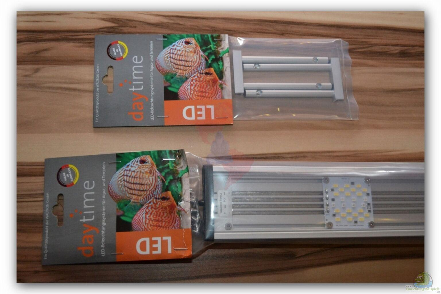 mich s stiftung aqua test daytime cluster control 120 4 led lampe. Black Bedroom Furniture Sets. Home Design Ideas