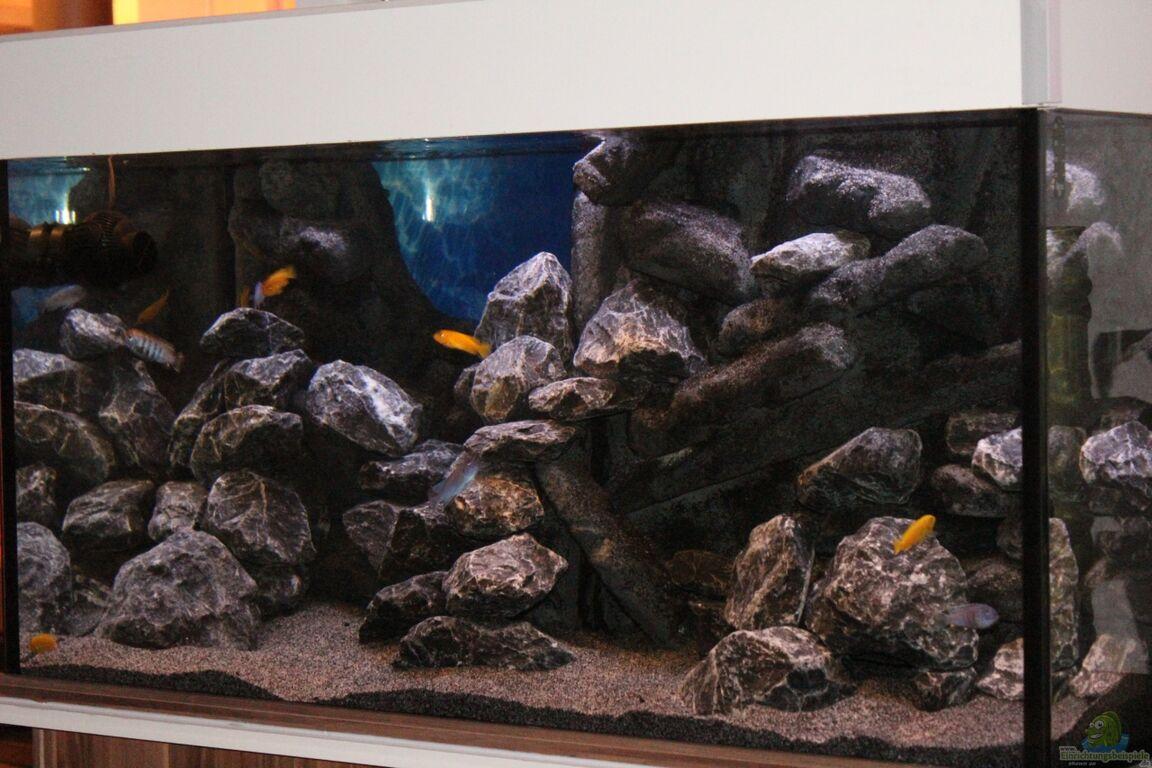 Aquarium von sergio10 the rock - Aquarium deko selber machen ...