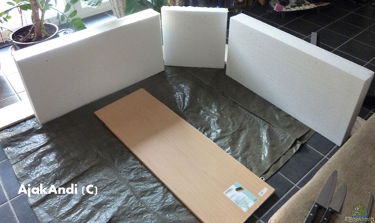 aquarium von ajakandi corner reef aufgel st. Black Bedroom Furniture Sets. Home Design Ideas