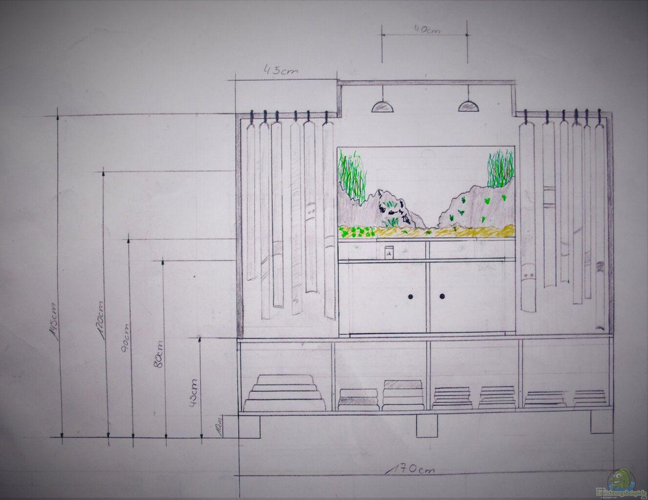 aquarium von janmee der neue hingucker im schlafzimmer. Black Bedroom Furniture Sets. Home Design Ideas
